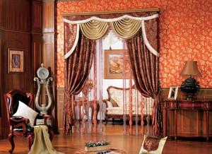 小复式楼欧式窗帘装修效果图