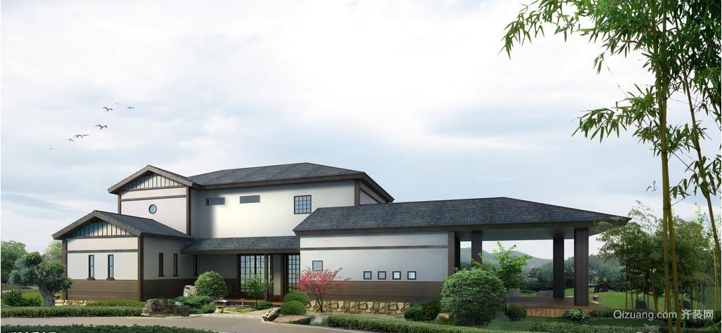 日式别墅设计效果图
