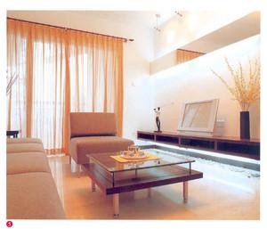 单身公寓宜家欧式客厅电视背景墙装修样板间效果图