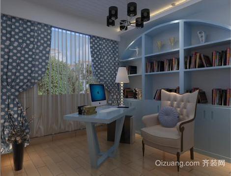 50平米地中海风格书房装修效果图