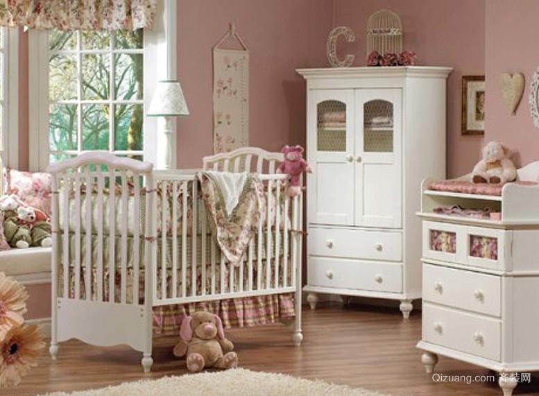20平米欧式婴儿房装修效果图