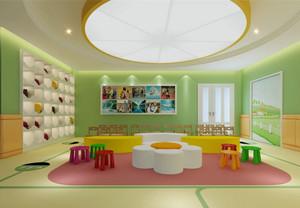 时尚可爱幼儿园教室装修图片大全