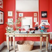 红色的室内设计