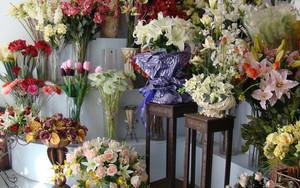 温馨舒适的韩式风格花店装修效果图