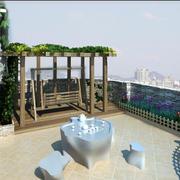 现代阳台整体设计