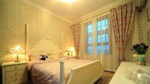 温馨浪漫婚房卧室装修图