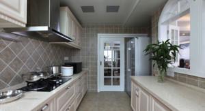 80平米简欧风格厨房装修效果图