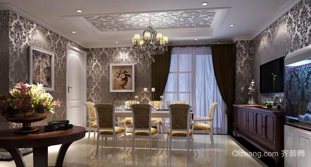 欧式风格别墅龙发装饰装修设计效果图