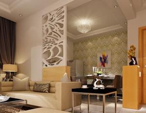 复式楼家庭装饰水晶装饰品装修效果图