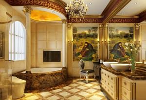 欧式豪华卫生间装修图欣赏