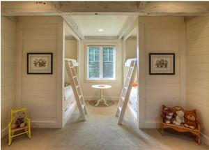 双胞胎创意卧室装修效果图