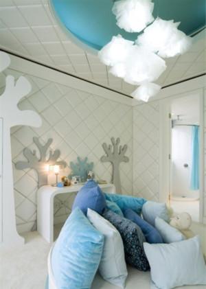 一居室小户型唯美小清新卧室效果图欣赏