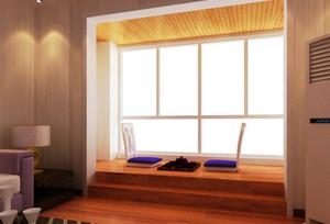 三居室阳台地台装修效果图