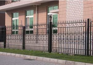 铁艺围墙设计效果图