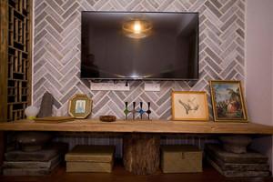 自然环保混搭单身公寓装修风格图