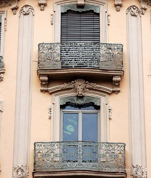法式别墅小阳台装修效果图
