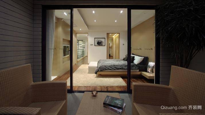 时尚现代简约卧室装修效果图