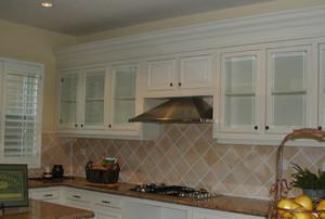 欧式风格厨房整体橱柜装修效果图