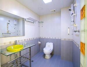 70平米小户型欧式洗手间吊顶背景墙装修效果图