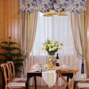 别墅设计窗帘图