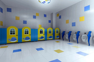 幼儿园卫生间装修效果图