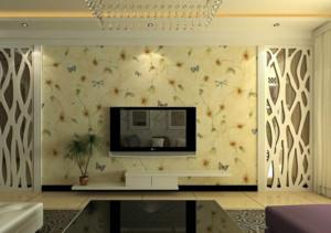 客厅装饰画电视背景墙装修效果图