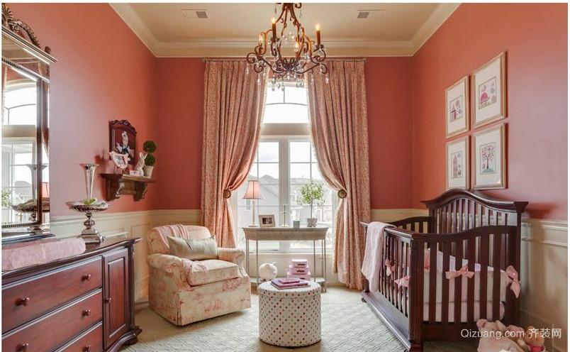 现代欧式小房间卧室装修设计效果图