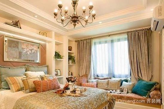 50平米韩式卧室吊顶装修效果图