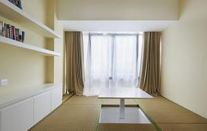 别墅新古典式日式卧室榻榻米装修效果图