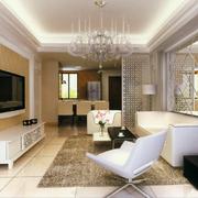 客厅设计吊顶图