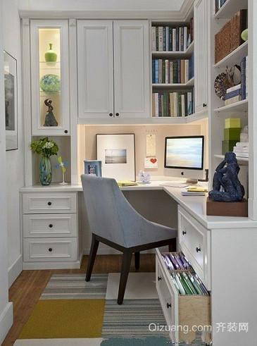 简约新房书房装修效果图