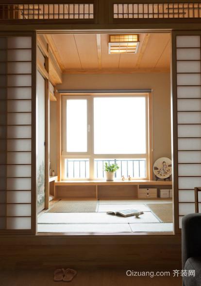 70平米现代简约日式风格客厅装修效果图