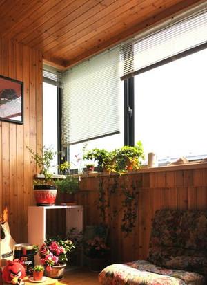 复式楼露台阳光房装修效果图