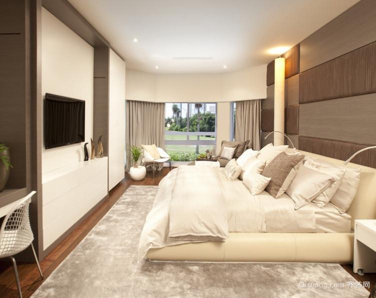 现代卧室榻榻米床装修效果图