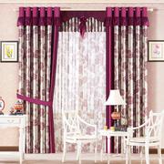 精美的窗帘图案设计