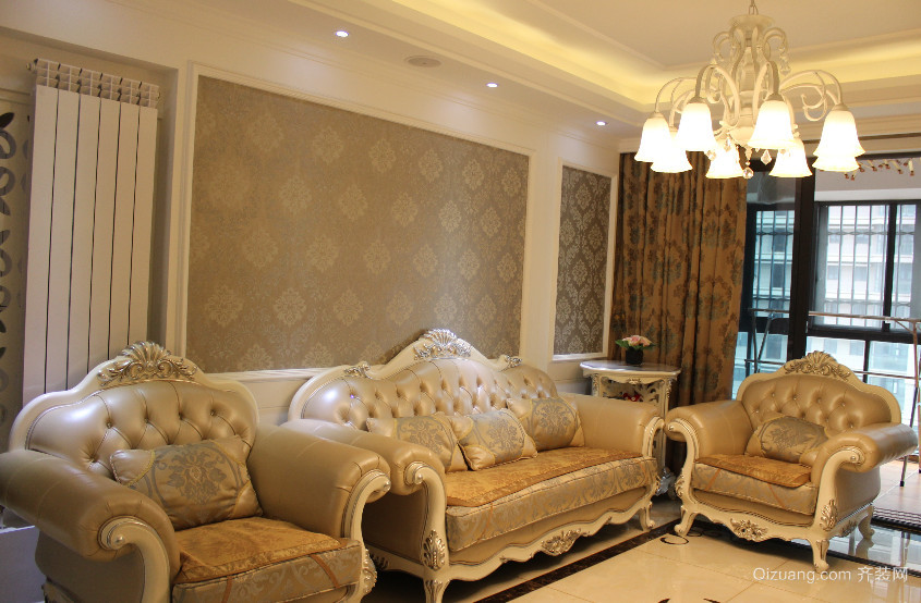 小户型客厅沙发背景墙装修效果图