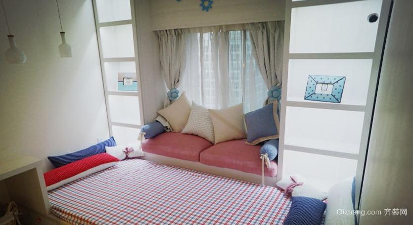 创意儿童房飘窗设计效果图