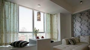 简约风格客厅飘窗设计效果图