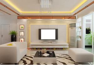 室内电视背景墙装修效果图大全2014图片