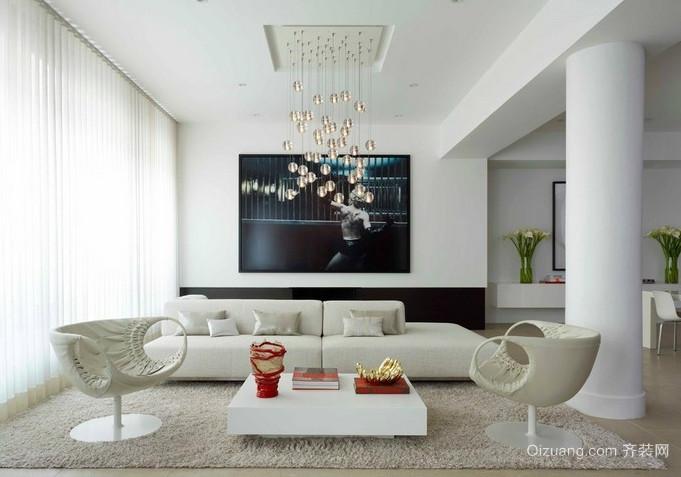 精美客厅灯饰装修设计效果图