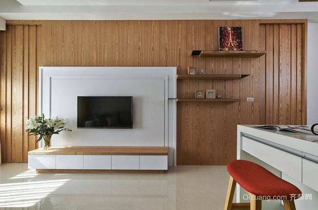 时尚大气的日式风格二居装修效果图