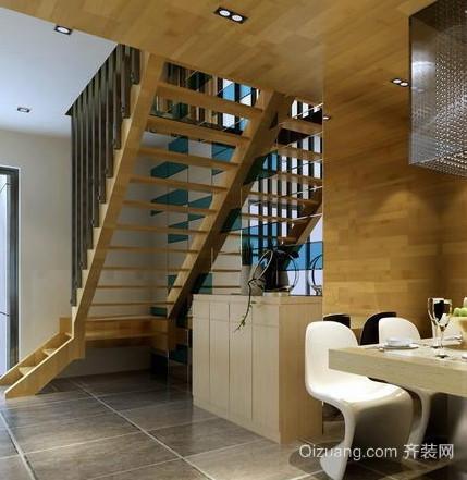 小复式楼楼梯装修效果图