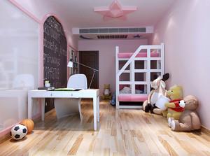 欧式风格小清新双层儿童床图片