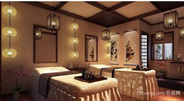 简单明了的日式美容院室内装修效果图