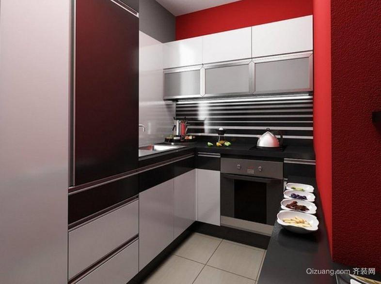 个性时尚厨房装修效果图