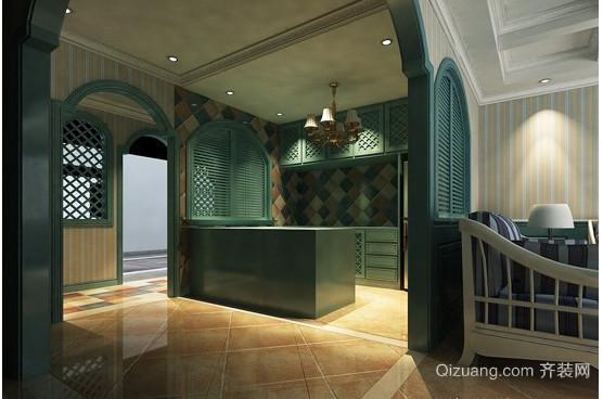 地中海样板房装修效果图