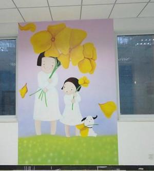 幼儿园手绘墙装修效果图