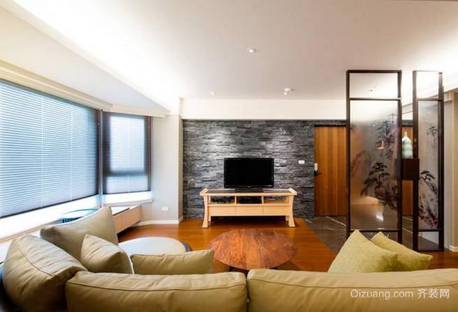 日式风格休闲一居室装修效果图