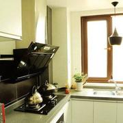 厨房设计飘窗造型图
