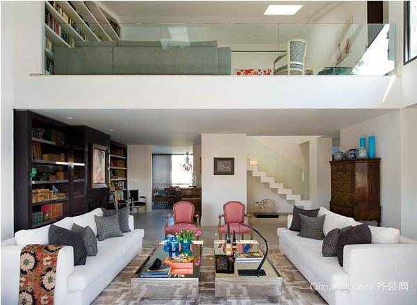 迷你复式单身公寓装修设计效果图